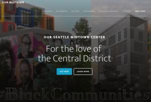 Screenshot of Our MidTown website